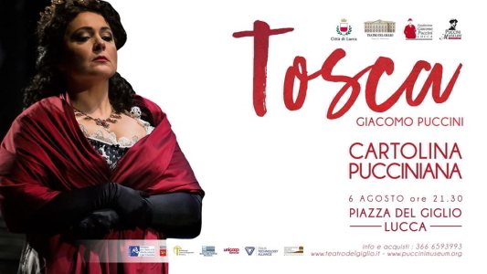 Cartoline pucciniane - Tosca in Lucca