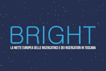 Logo of Bright the European Night of Research