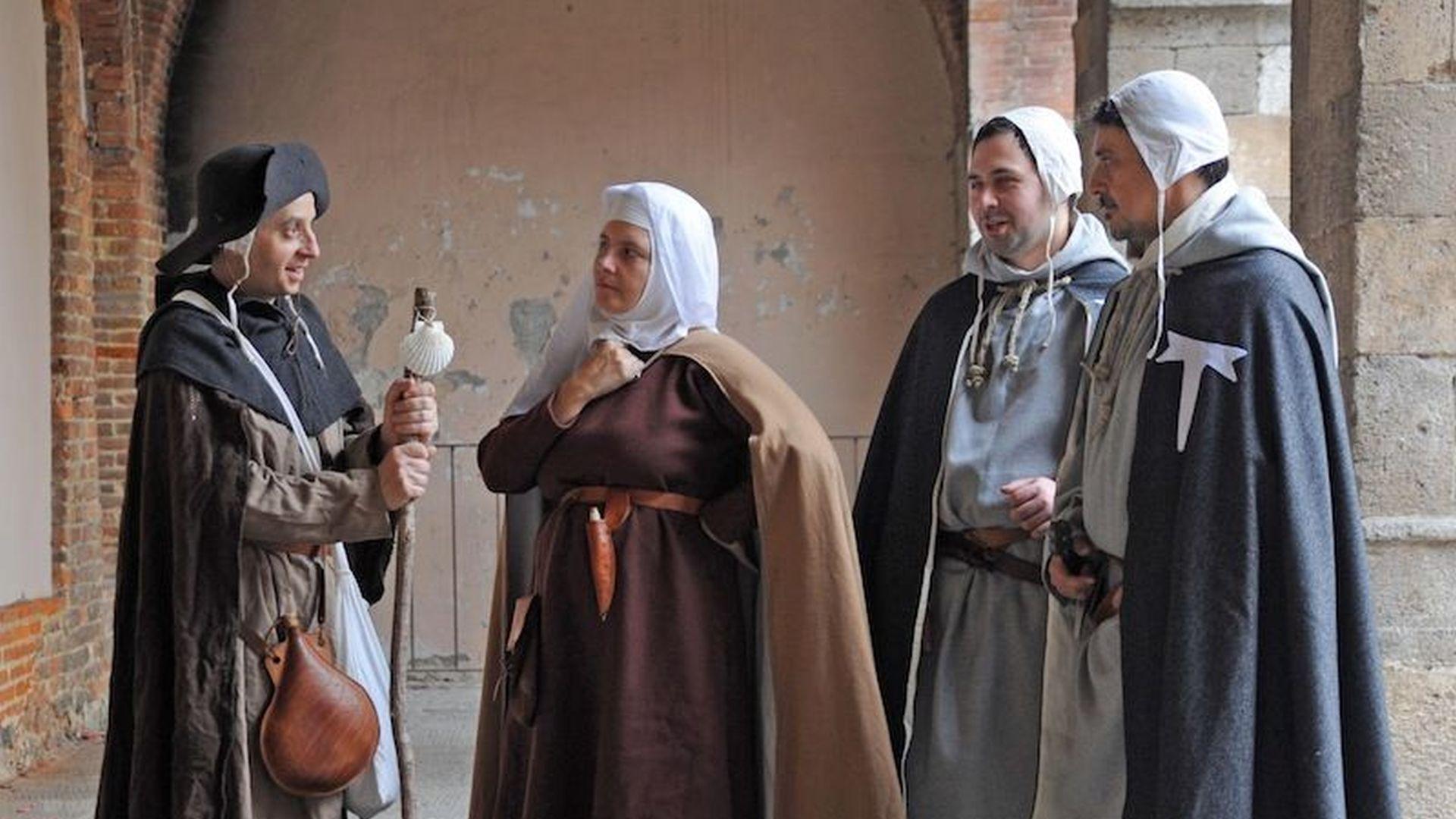 rievocazione storica della frangicena a MOntecarlo