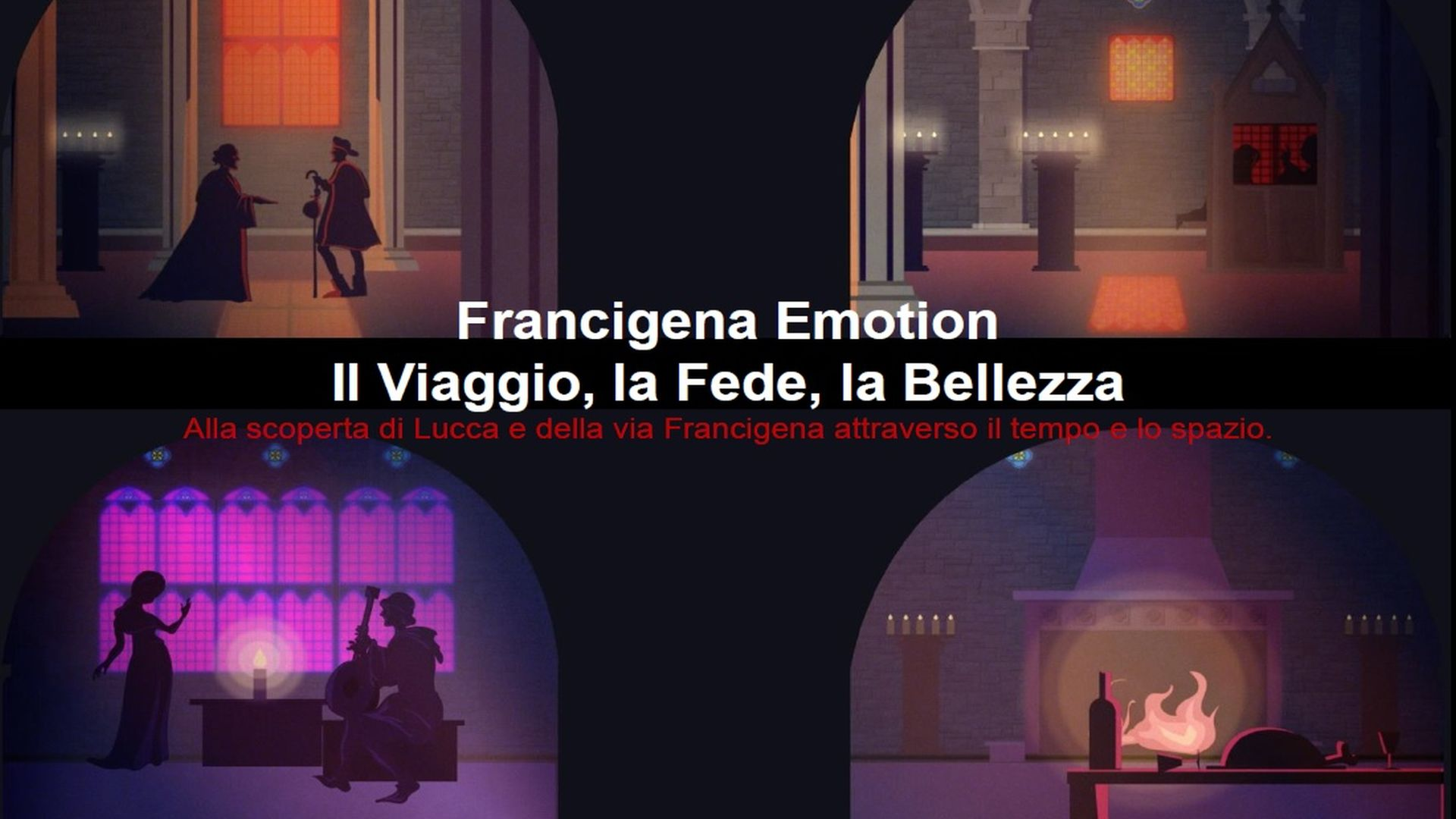 grafica di francigna entry point francigena emotions