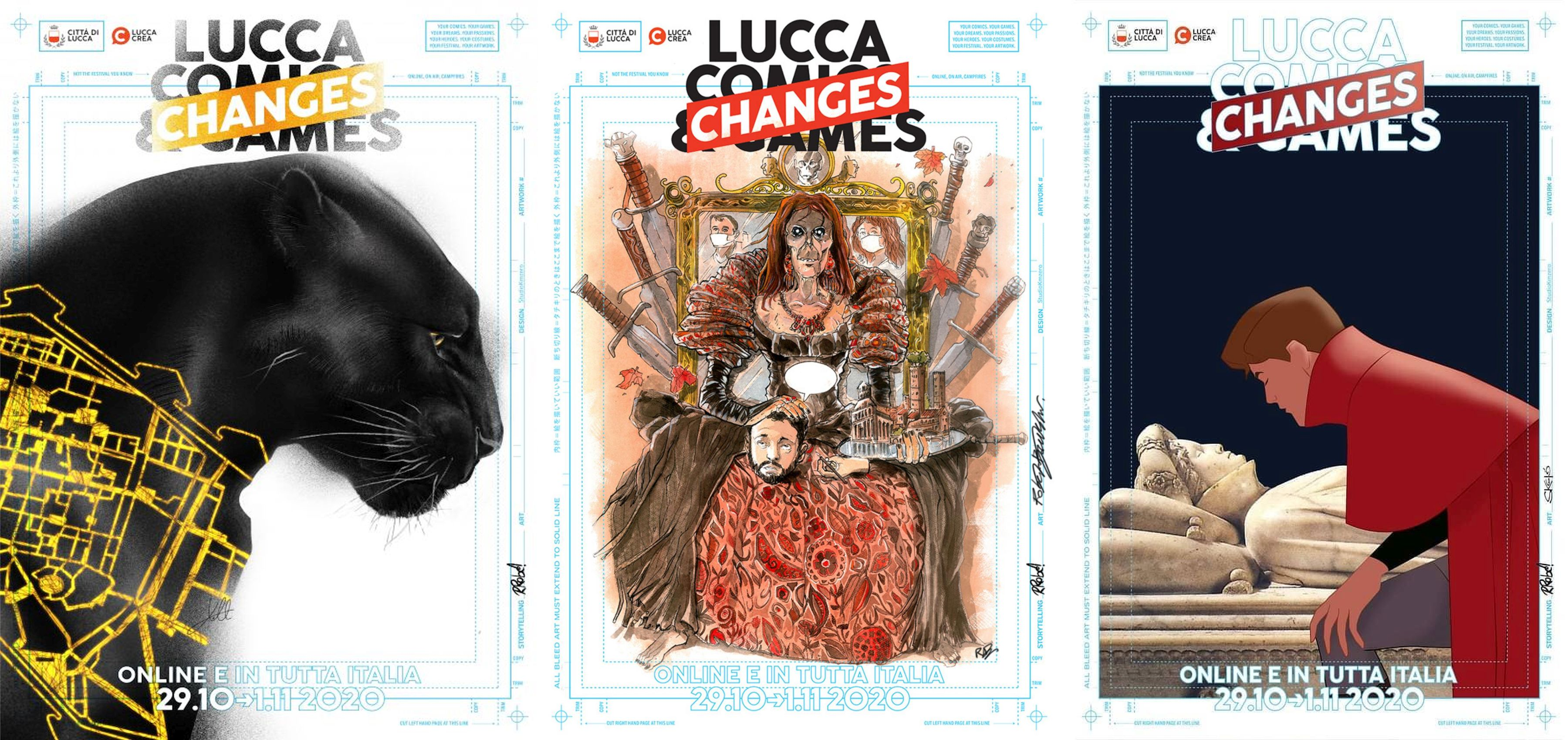 lucca comics and games poster