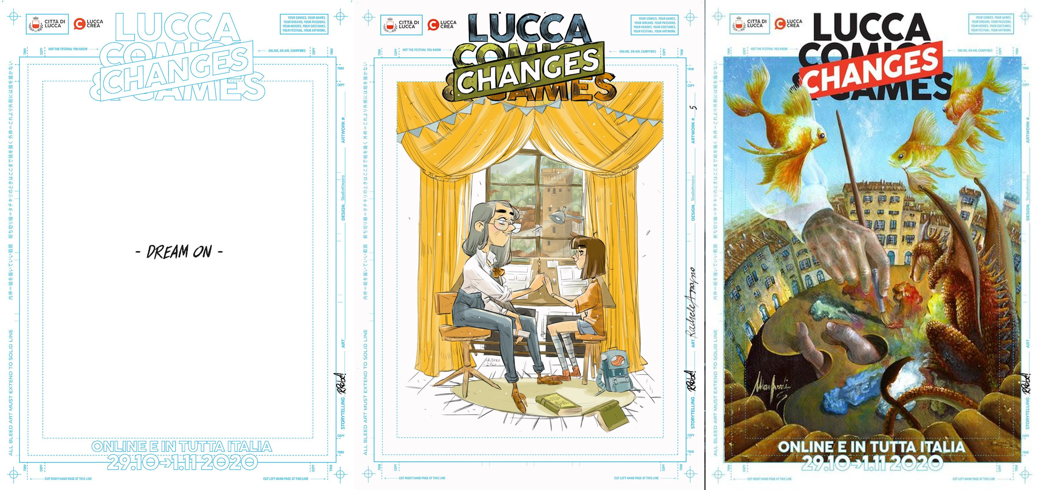 lucca comics and games 2020 poster