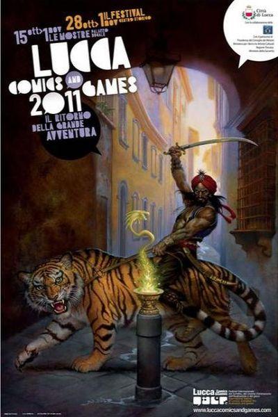 vicolo del gallo in the poster of luca comics and games 2011