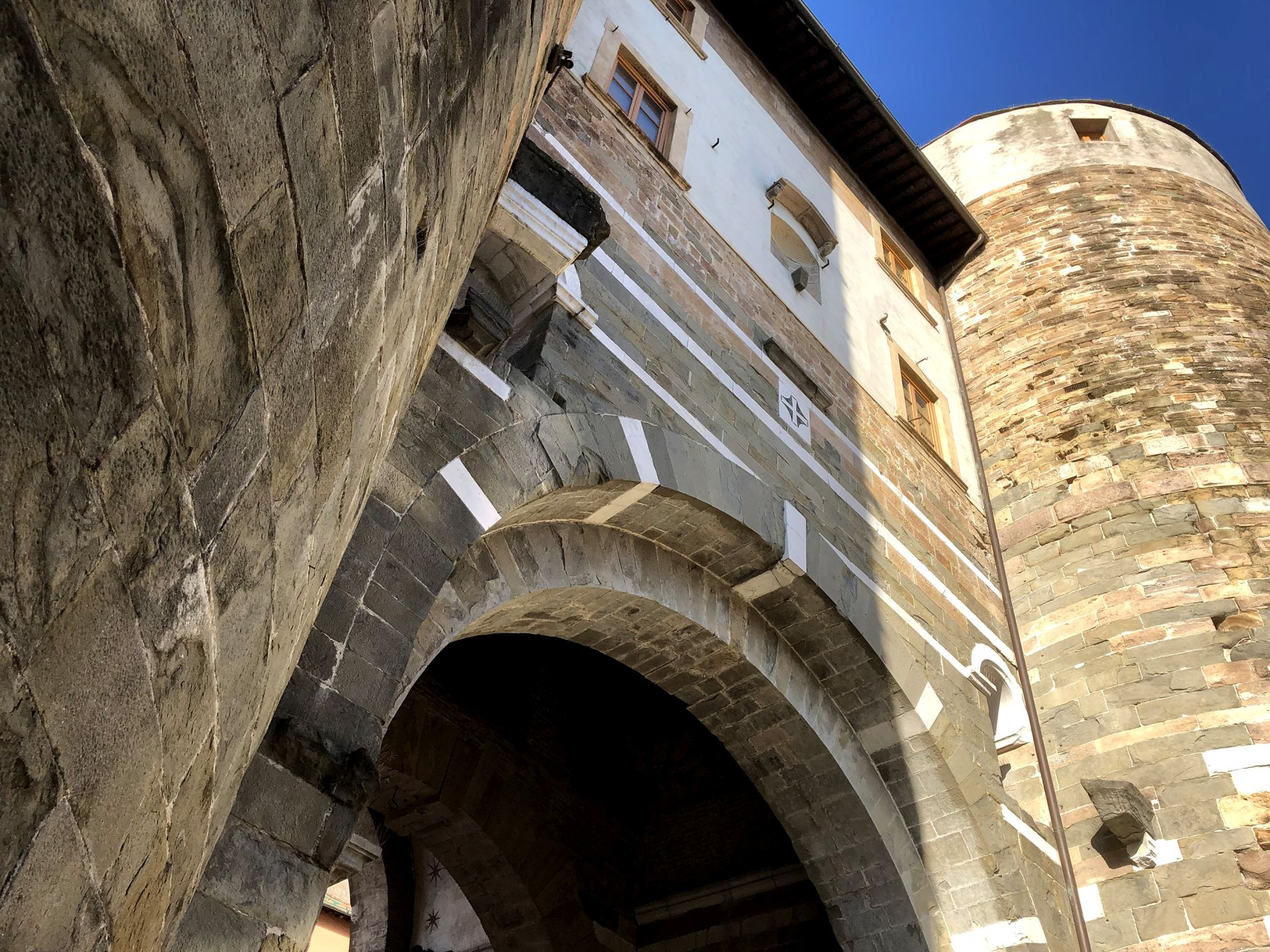 Porta San Gervasio and the medieval walls