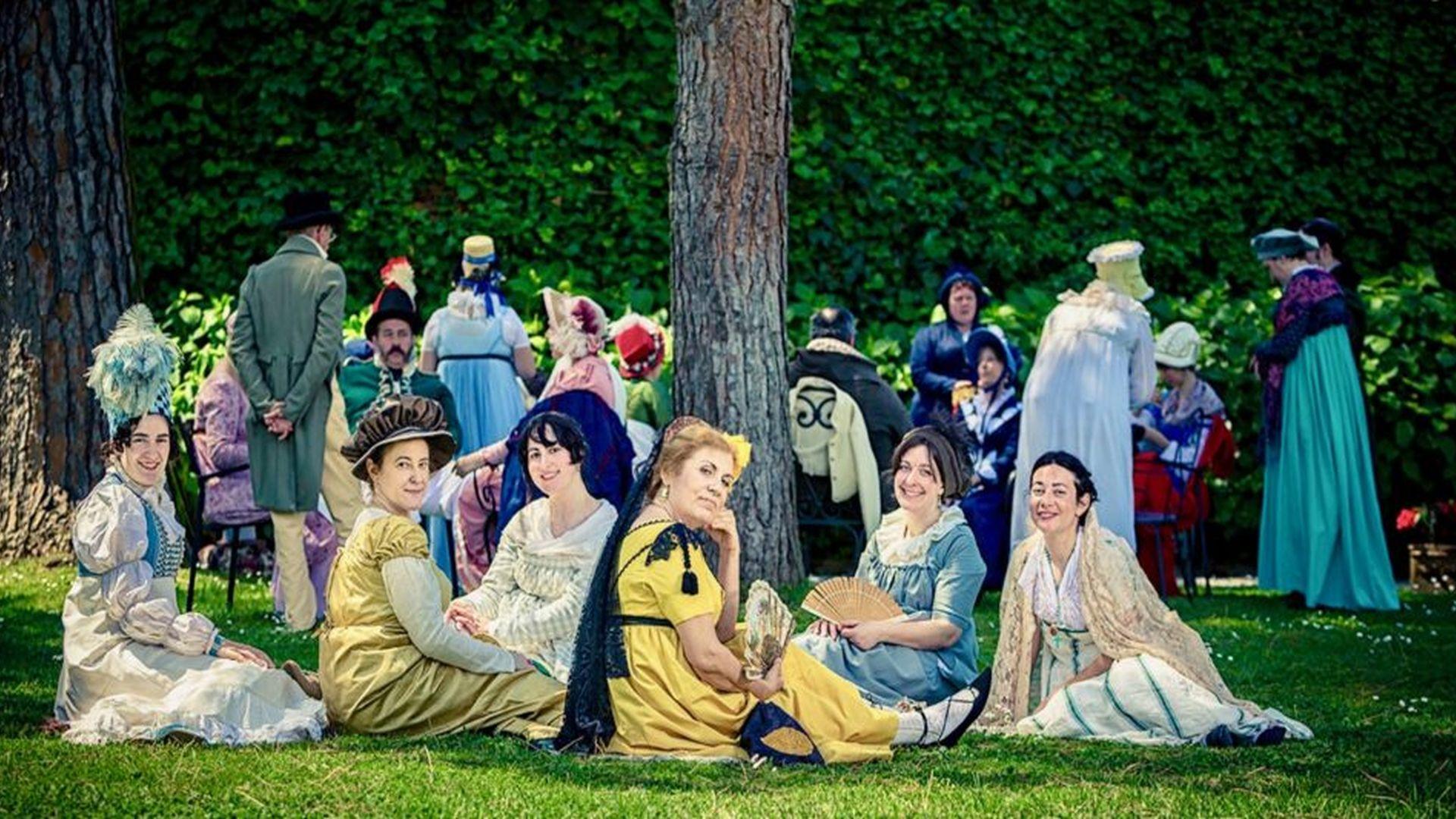 rievocazione storica napoleonica a villa reale di marlia