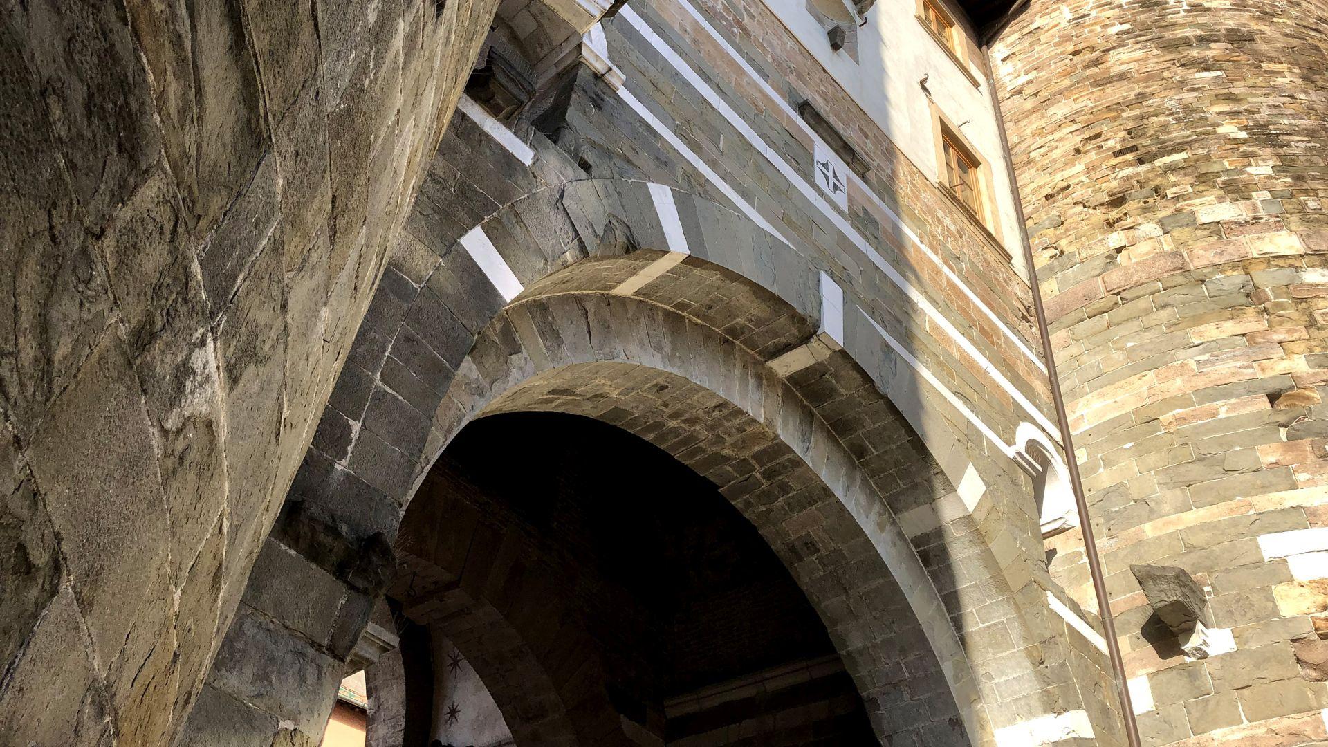 porta san Gervasio delle mura medievali di Lucca