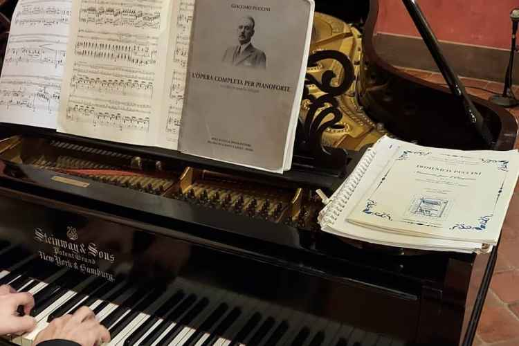 concert from the Puccini museum of Lucca on the legendary steinway piano