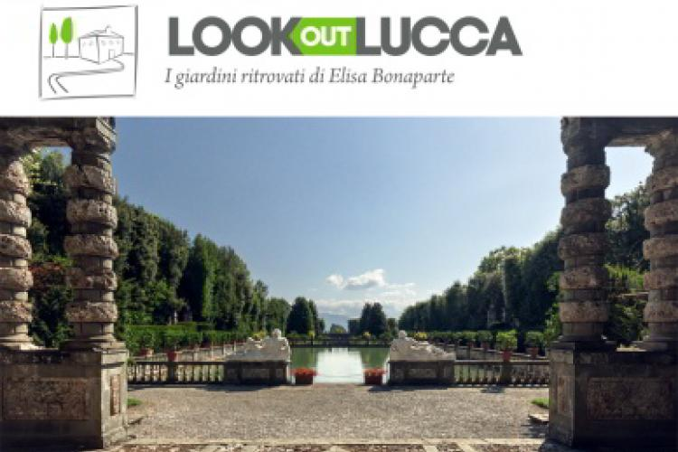 Image Logo. Look out Lucca – guided tours at Villa Reale