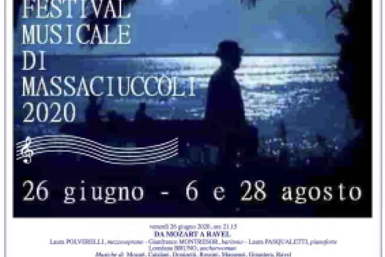 Poster of the Festival in Massaciuccoli 2020