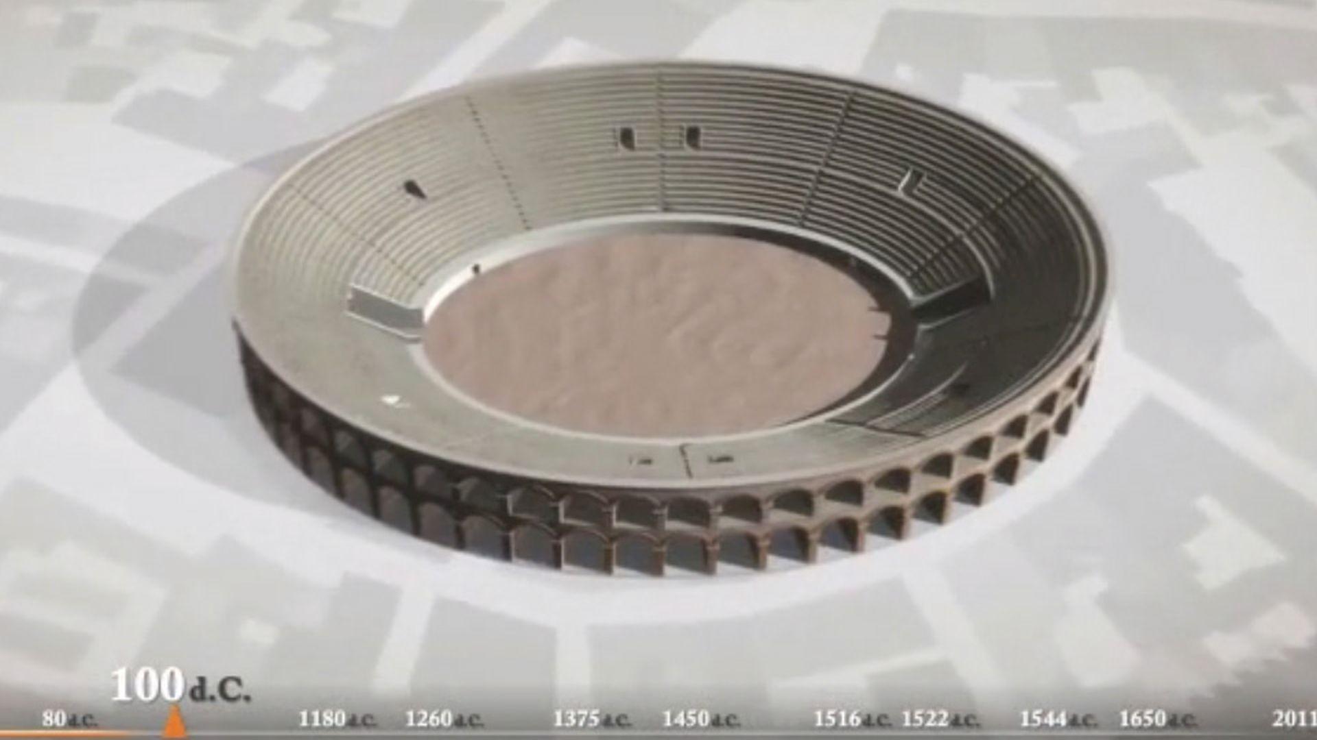 video animazione mura di lucca