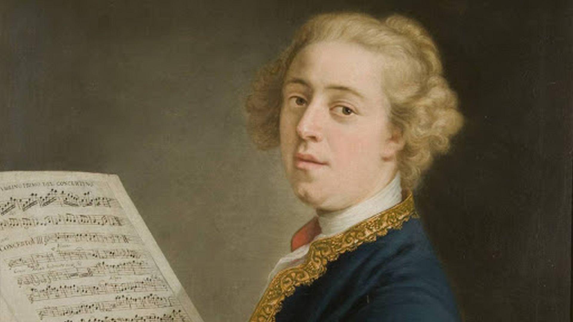 ritratto di Francesco Xaverio Geminiani compositore lucchese