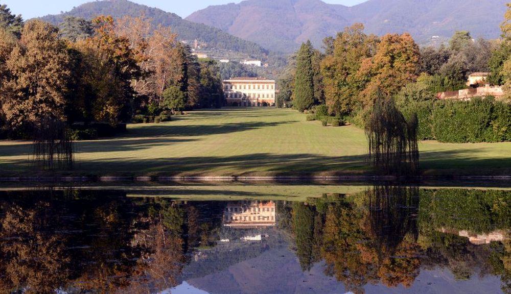 Parco di villa reale di Marlia nella piana di Lucca