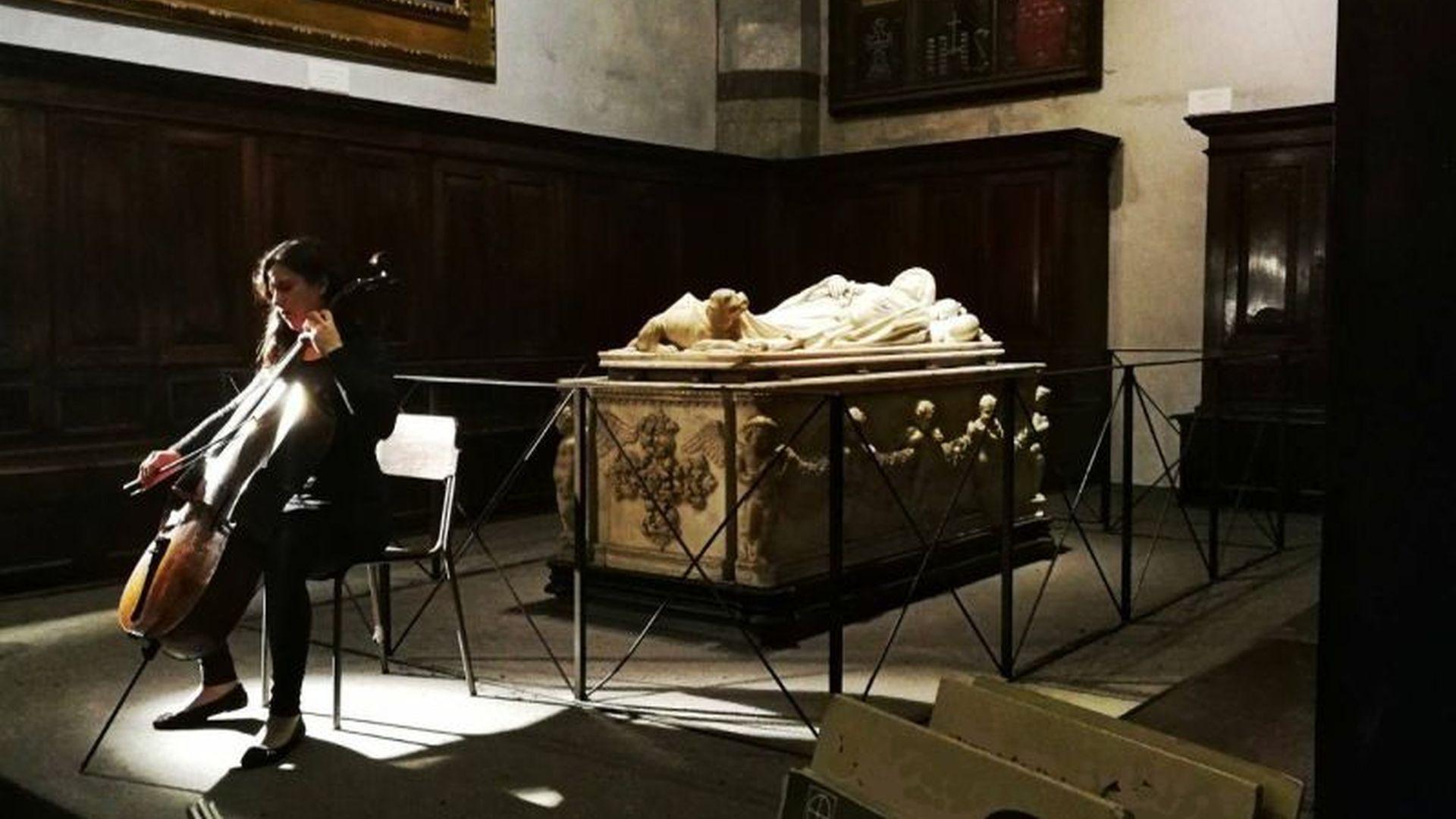 concerto di violoncello in onore di Ilaria del Carretto
